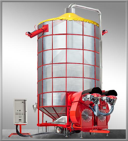 gamma xl Мобильная зерносушилка FRATELLI PЕDROTTI XL 350,ХL 400,ХL 550,ХLМ 350